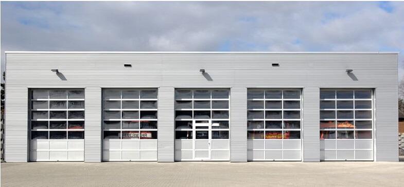 Commercial door garage