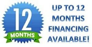 A-1 Door Company offers financing for garage door repair and service work.
