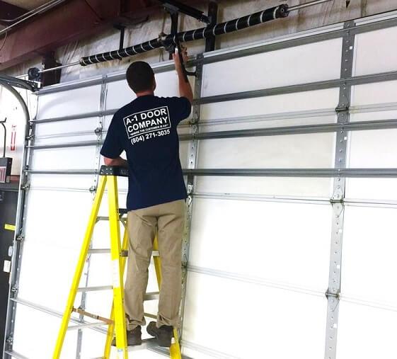 A 1 door company garage door spring repair for A 1 garage door service
