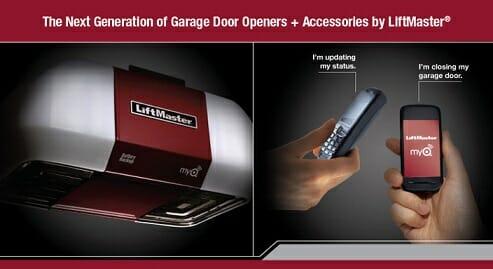 liftmaster garage door opener