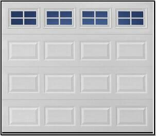 Traditional Style Garage Door