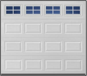 Traditional Style Garage Door