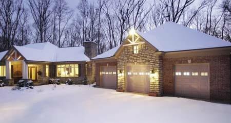garage door winter