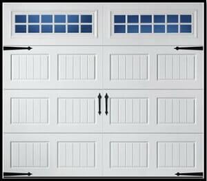 Carriage Style Garage Door