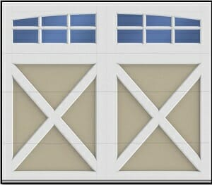 Composite Style Garage Door