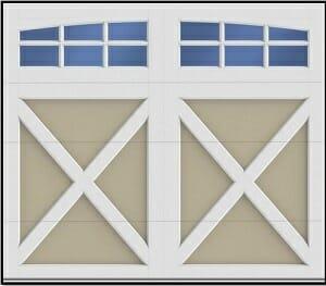 Composite Style Garage Door