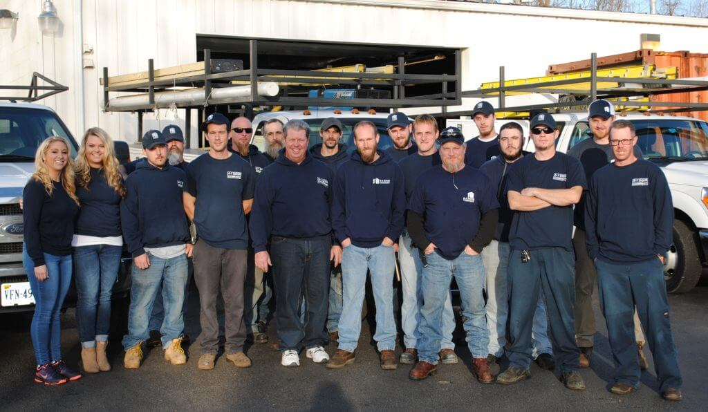 A-1 Garage Door Company Team Photo