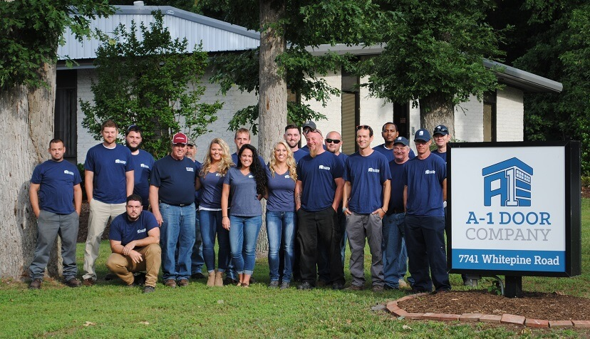 A-1 Garage Door Company Team Photo