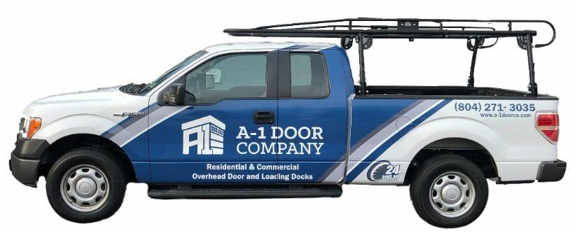 Garage Door Repair Truck