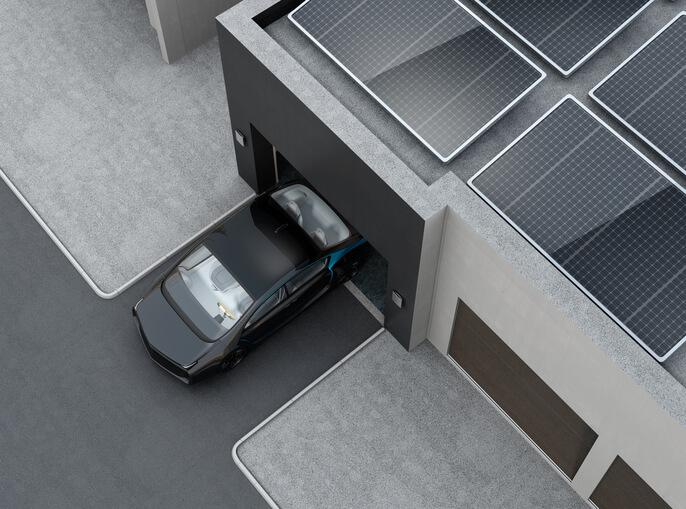 high-tech garage