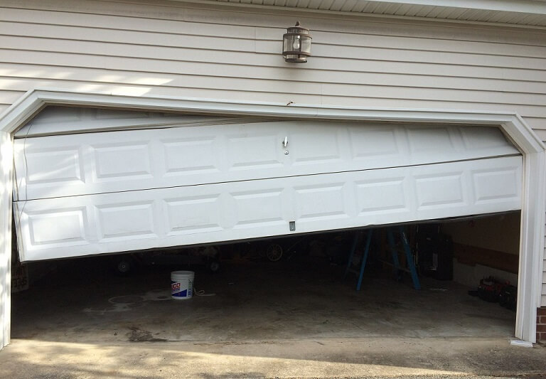 Jammed Garage Door